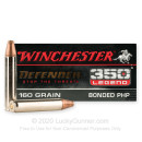 Premium 350 Legend Ammo For Sale - 160 Grain Bonded PHP Ammunition in Stock by Winchester Defender - 20 Rounds