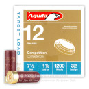 """Bulk 12 Gauge Ammo For Sale - 2-3/4"""" 1-1/8oz. #7.5 Shot Ammunition in Stock by Aguila - 250 Rounds"""
