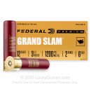 """Premium 12 Gauge Ammo For Sale - 3-1/2"""" 2oz. #6 Shot Ammunition in Stock by Federal Grand Slam - 10 Rounds"""