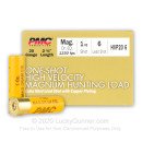 """Cheap 20 ga Ammo For Sale - 2-3/4"""" #6 Copper Plated Lead Shot - High Velocity Ammunition by PMC - 25 Rounds"""