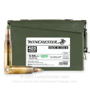 Bulk 5.56x45 Ammo For Sale - 62 Grain FMJ M855 Ammunition in Stock by Winchester - 420 Rounds in Ammo Can