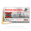 Cheap 6.5 Creedmoor Ammo For Sale - 129 Grain Power Point Ammunition in Stock by Winchester Super-X - 200 Rounds