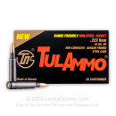 Cheap 223 Rem Ammo For Sale - 62 Grain HP Ammunition in Stock by Tula - 20 Rounds