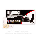 """Cheap12 Gauge Blanks For Sale - 2-3/4"""" Blank Rounds in Stock by Fiocchi - 25 Rounds"""