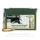 Cheap 5.56x45 Ammo For Sale - 62 Grain FMJBT XM855 Ammunition in Stock by Federal American Eagle - 420 Rounds in Ammo Can