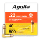 Cheap 22 LR Ammo For Sale - 40 Grain CPRN Ammunition in Stock by Aguila - 500 Rounds