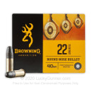 Bulk 22 LR Ammo For Sale - 40 Grain LRN Ammunition in Stock by Browning Performance Rimfire - 400 Rounds
