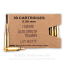 Bulk 5.56x45 Ammo For Sale - 62 Grain OTM Ammunition in Stock by Winchester - 900 Rounds