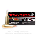 Premium 7mm WSM Ammo For Sale - 150 Grain PHP Ammunition in Stock by Winchester Power Max Bonded - 20 Rounds