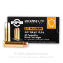 Cheap 357 Mag Ammo For Sale - 158 Grain JHP Ammunition in Stock by Prvi Partizan - 50 Rounds