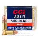 22 LR Ammo For Sale - 40 Grain CPRN - CCI Mini Mag Ammunition In Stock - 100 Rounds