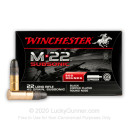 Bulk 22 LR Ammo For Sale - 45 Grain Black CPRN Ammunition in Stock by Winchester M-22 Subsonic - 800 Rounds