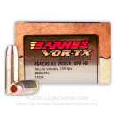 Premium 454 Casull Barnes Vor-TX Ammo For Sale - 250 Grain XPB Hollow Point Barnes Ammunition In Stock - 20 Rounds