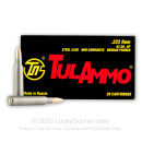 Bulk Tula 223 Rem Ammo For Sale - 62 grain HP Ammunition In Stock