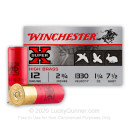 "Cheap 12 Gauge Ammo - Winchester High Brass Game 2-3/4"" #7-1/2 Shot - 25 Rounds"