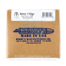 Berry's 9mm Plated Bullets For Sale - 9mm 115 gr FP