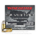 Cheap 9mm Ammo For Sale - 115 Grain JHP Ammunition in Stock by Winchester Silvertip - 20 Rounds