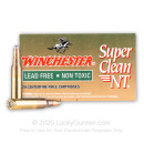 Premium 5.56x45mm Ammo For Sale - 55 gr JSP Ammunition In Stock by Winchester Super Clean NT - 20 Rounds