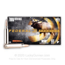 Premium 7mm Remington Hunting Ammo For Sale - 160 gr Nosler Partition Ammunition In Stock by Federal V-Shok - 20 Rounds