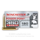 Bulk 350 Legend Ammo For Sale - 180 Grain Power Point Ammunition in Stock by Winchester Super-X - 200 Rounds