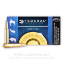 Cheap 300 Winchester Magnum Ammo For Sale - 150 gr Soft Point Hot-Cor Bullets - Federal Power Shok Ammo Online - 20 Rounds