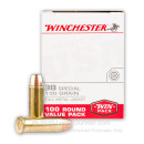 Bulk 38 Special Ammo For Sale - 130 Grain FMJ Ammunition in Stock by Winchester Target - 500 Rounds