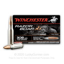 Premium 308 Win Ammo For Sale - 150 Grain BPPHP Ammunition in Stock by Winchester Razorback XT - 20 Rounds