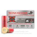 "12 Gauge Ammo - Winchester Super-X Waterfowl 3"" #2 Shot 1 1/4oz - 25 Rounds"