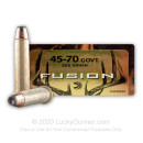 45-70 Government Ammo For Sale - 300 gr - Federal Fusion Ammo Online