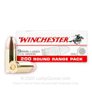 9mm Luger Ammo - Winchester Range Pack 115gr FMJ - 1000 Rounds