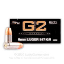 Premium 9mm Ammo For Sale - 147 Grain Bonded HP Ammunition in Stock by Speer LE Gold Dot G2 - 50 Rounds