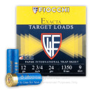"""Cheap 12 Gauge Ammo For Sale - 2-3/4"""" 24 Gram #9 Shot Ammunition in Stock by Fiocchi Paper International - 25 Rounds"""