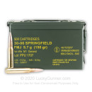 Bulk 30-06 M1 Garand Ammo For Sale - 150 gr FMJ Ammunition Online by Prvi Partizan - 500 Rounds