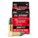 Cheap 22 LR Ammo For Sale - 38 Grain LRN Ammunition in Stock by Blazer - 200 Rounds