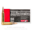 Bulk 223 Rem Ammo For Sale - 55 gr FMJ Ammunition In Stock by Aguila
