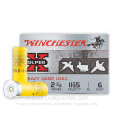 """20 Gauge Ammo - Winchester Super-X Heavy Game Load 2-3/4"""" #6 Shot - 250 Rounds"""