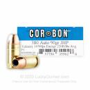 380 Auto ACP - 90 gr JHP - Corbon - 20 Rounds For Sale Online