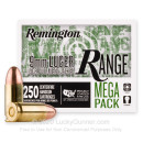 Cheap 9mm Ammo For Sale - 115 Grain FMJ Ammunition in Stock by Remington Range - 250 Rounds