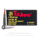 Cheap 7.62x39 Ammo For Sale - 124 gr HP - Ammunition in Stock by Tula Cartridge Works - 40 Rounds