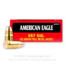 357 Sig Ammo For Sale - 125 gr FMJ - Federal American Eagle Ammunition Online