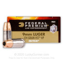 Bulk Defensive 9mm Ammo For Sale - 124 gr JHP  - Federal LE HST Ammunition In Stock - 1000 Rounds