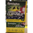 """Cheap 12 Gauge Ammo For Sale - 2-3/4"""" 1oz. #9 Shot Ammunition in Stock by Remington Clay & Field - 25 Rounds"""
