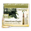 Bulk 5.56x45 XM855 Federal Ammo For Sale - 62 gr FMJ Ammunition In Stock - 150 Rounds