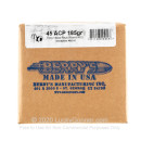 Bulk 45 Cal Bullets For Sale - 185 Grain Plated Hollow Base Round Nose Bullets in Stock by Berry's - 500 Count
