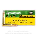 30-30 Ammo For Sale - 150 gr SP - Remington Core-Lokt Ammo Online