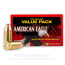 9mm Ammo For Sale - 115 gr FMJ - Federal American Eagle Ammunition In Stock