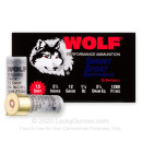 """Bulk 12 Gauge Ammo For Sale - 2-3/4"""" 1-1/8oz. #7.5 Shot Ammunition in Stock by Wolf Target Sport - 250 Rounds"""
