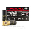"Premium 12 Gauge Ammo For Sale - 3"" 1-1/8 oz #2 Shot Ammunition in Stock by Winchester Bind Side - 25 Rounds"