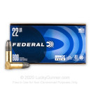 Cheap 22 LR Ammo For Sale - 40 Grain LRN Ammunition in Stock by Federal Champion - 800 Rounds