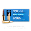 Cheap 6.5 Grendel Ammo For Sale - 110 Grain FMJ-BT Ammunition in Stock by Prvi Partizan - 20 Rounds